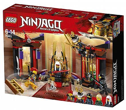 LEGO Ninjago - Confronto na Sala do Trono - 70651