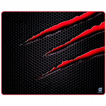 Mouse Pad Dazz Control Nightmare - Grande - 350 x 444mm - 624939