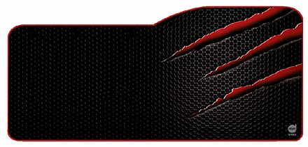 Mouse Pad Dazz Speed Nightmare - Extra Grande - 345 x 795mm - 624886