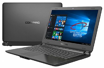 "HP Compaq Presario CQ21N - Tela 14"" HD, Intel® i3, 4GB, SSD 120GB, Windows 10 - Preto"