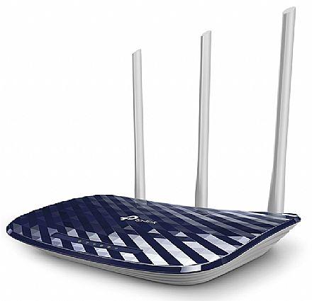 Roteador Wi-Fi TP-Link Archer C20 AC750 Versão 4.0 - Dual Band 2.4 GHz e 5 GHz - 3 Antenas