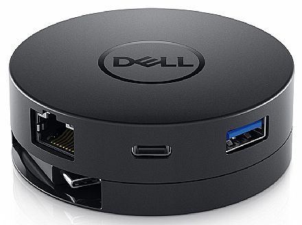 Adaptador Universal Dell Mobile DA300 - USB-C 3.1 para HDMI, VGA, DisplayPort e Ethernet