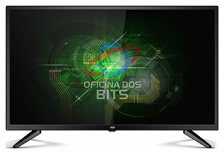 """TV 32"""" AOC LE32M1475 LED - HD - Função Media Player - HDMI/VGA/USB"""