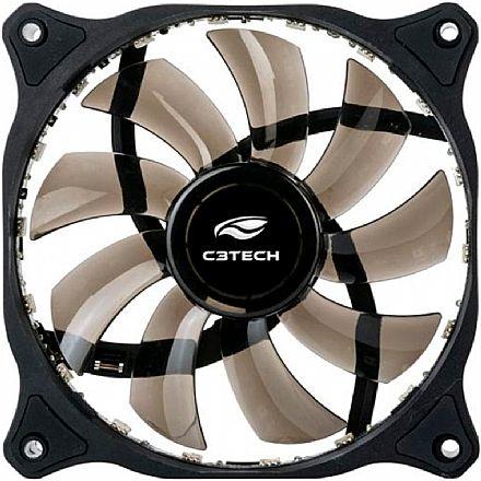 Cooler 120x120mm C3 Tech Storm - com LED RGB - 10 Modos de Iluminação - F9-L150RGB