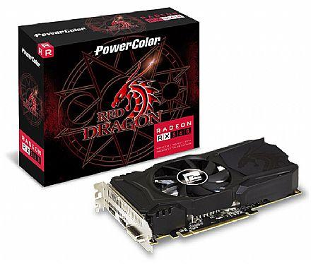 AMD Radeon RX 560 2GB GDDR5 128bits - AXRX - PowerColor 2GBD5-DHAV2