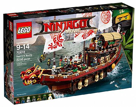 LEGO Ninjago - Navio Recompensa do Destino - 70618