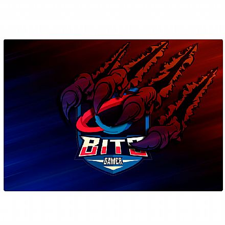Mouse Pad Bits Gamer Raptor - 250 x 360mm - Grande