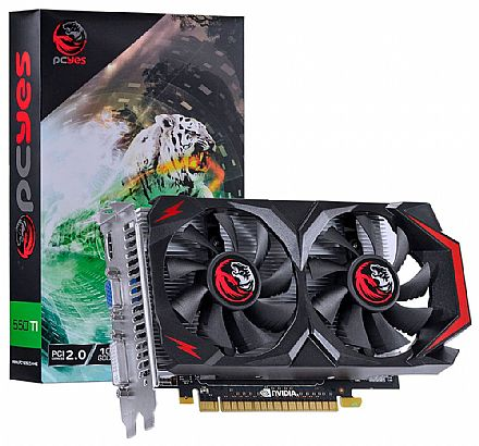 GeForce GTX 550Ti 1GB GDDR5 128bits - PCYes PV55TX1GD5128DF