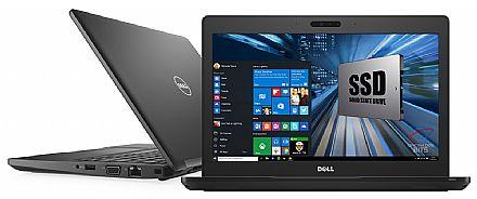 """Dell Latitude 12 5280 - Tela 12.5"""" HD, Intel i5 7300U, 8GB DDR4, SSD 128GB, Windows 10 Pro - Outlet"""
