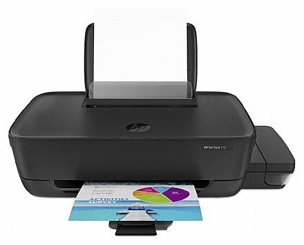Impressora HP Ink Tank 116 com Tanque de Tinta - USB - 3UM87A