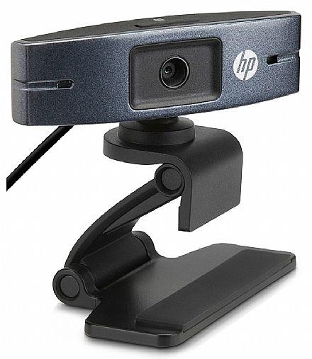 Web Câmera HP HD2300 - Videochamadas em HD 720p - com Microfone Direcional - Y3G74AA