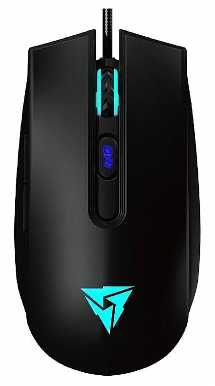 Mouse Gamer ThunderX3 TM25 - 4000dpi - 6 Botões Programáveis - LED RGB