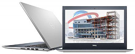 """Dell Vostro 5471 - Tela 14"""" HD, Intel i5 8250U, 16GB, HD 1TB + SSD 128GB, Video Radeon 530 2GB, Windows 10 Pro - Outlet"""