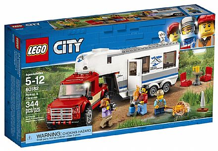 LEGO City - Pick-up e Trailer - 60182