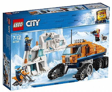 LEGO City - Caminhão Explorador do Ártico - 60194