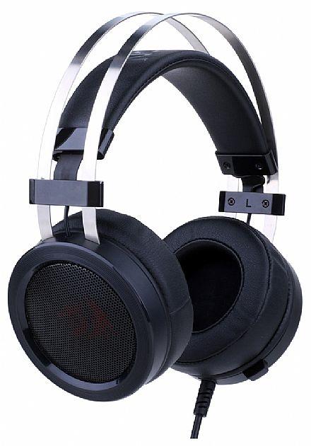 Headset Gamer Redragon Scylla H901 - com Controle de Volume e Microfone - Conector 3.5mm