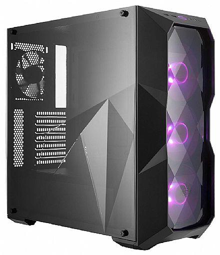Gabinete Cooler Master MasterBox TD500 - Lateral em Acrílico - USB 3.0 - com Iluminação RGB - MCB-D500D-KANN-S00