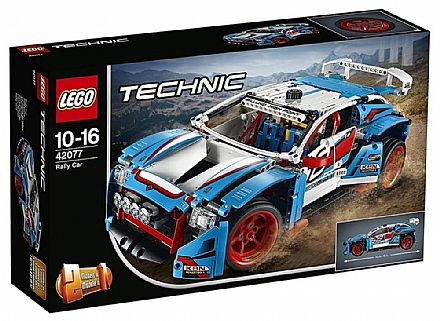 LEGO Technic - Modelo 2 Em 1: Carros de Rali - 42077