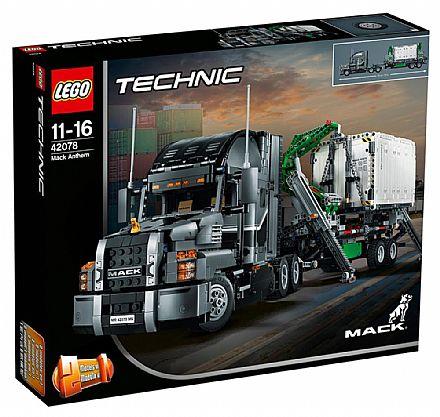 LEGO Technic - Modelo 2 Em 1: Glorioso MACK - 42078