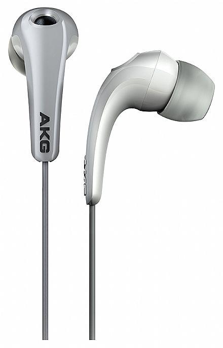 Fone de Ouvido AKG K321 - com Bloqueio de Ruídos - Conector 3.5mm - Branco - K321WHT