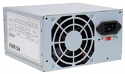 Fonte Nominal 200W K-Mex PCWells PO-300