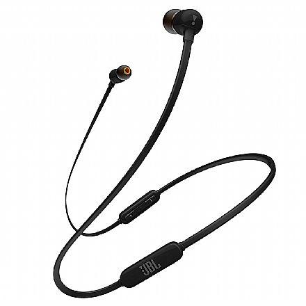 Fone de Ouvido Bluetooth Intra-Auricular JBL T110 BT - Preto - JBLT110BTBLK