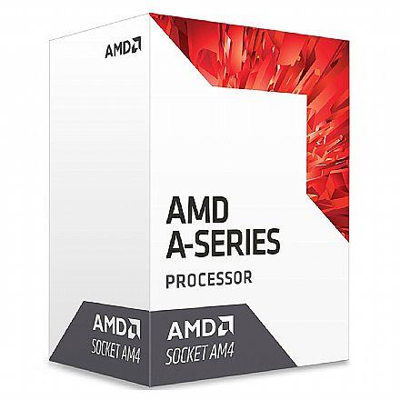 AMD A10 9700 Quad Core - Bristol Ridge - 3.5GHz (3.8GHz Turbo) - Cache 2MB - AM4 - TDP 65W - AD9700AGABBOX