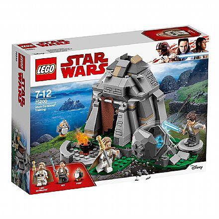 LEGO Star Wars - Treinamento na Ilha Ahch-To - 75200