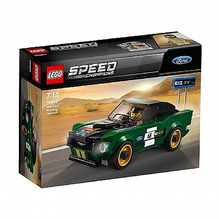 LEGO Speed Champions - Ford Mustang Fastback 1968 - 75884