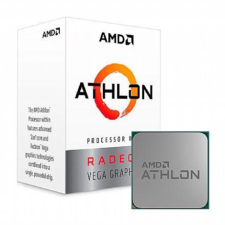 AMD Athlon 200GE - 3.2GHz - Cache 5MB - AM4 - TDP 35W - Radeon™ VEGA Graphics 3 - YD200GC6FBBOX