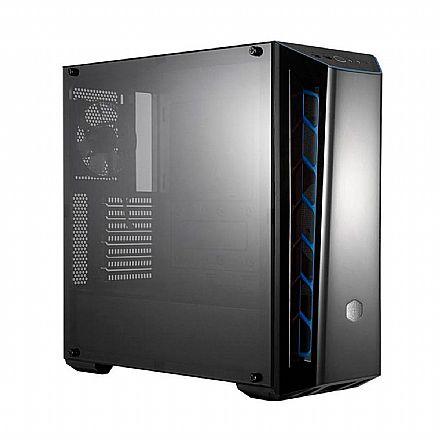 Gabinete Cooler Master MasterBox MB520 Blue - Janela Lateral em Acrílico - USB 3.0 - MCB-B520-KANN-S03