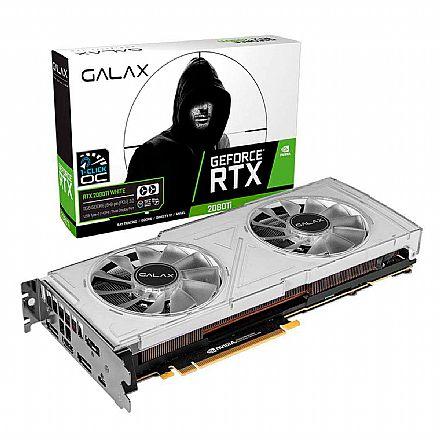 GeForce RTX 2080 Ti 11GB GDDR6 352bits - Dual White - 1-Click OC - Galax 28IULBUCT4KW
