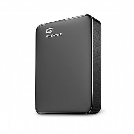HD Externo Portátil 2TB Western Digital Elements - USB 3.0 - WDBU6Y0020BBK-WESN