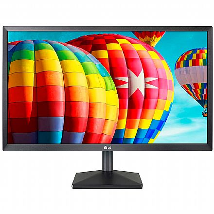 "Monitor 24"" LG 24MK430H - IPS Full HD - 5ms - Furação VESA - FreeSync - HDMI/VGA"