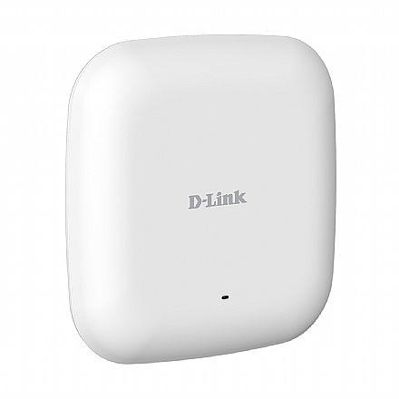 Access Point Corporativo D-Link DAP-2610 AC1300 - Dual Band 2.4 GHz e 5 GHz - PoE- Tecnologias MU-MIMO, Beamforming e Band Steering - 2 Antenas de 3dBi - Montável em Teto ou Parede