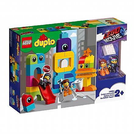 LEGO Duplo - The LEGO Movie 2: Emmet e Lucy com os Invasores - 10895