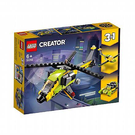 LEGO Creator - Modelo 3 em 1: Velocidade no Céu e no Mar - 31092