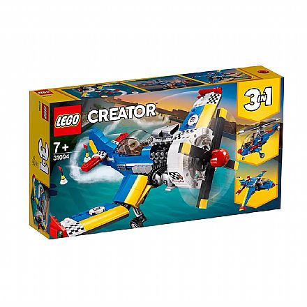 LEGO Creator - Modelo 3 em 1: Aeronaves de Corrida - 31094
