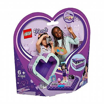 LEGO Friends - Caixa de Coração da Emma - 41355