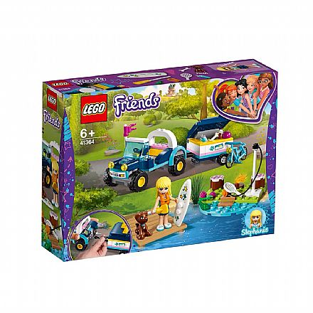 LEGO Friends - Buggy e Trailer da Stephanie - 41364