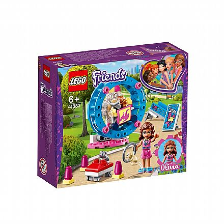 LEGO Friends - Playground do Hamster da Olivia - 41383