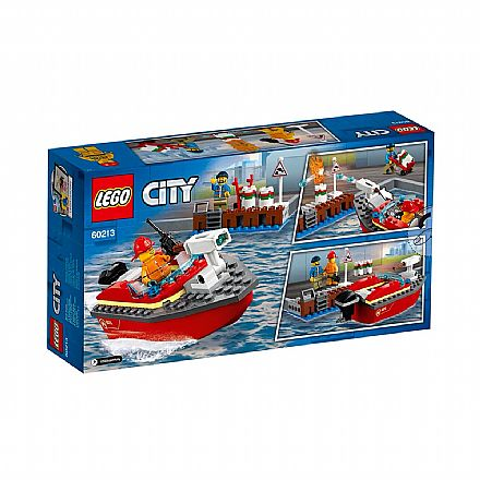 LEGO City - Incêndio na Doca - 60213