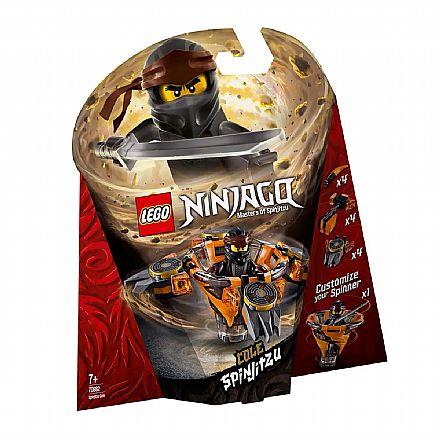 LEGO Ninjago - Spinjitzu Cole - 70662