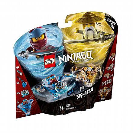 LEGO Ninjago - Spinjitzu Nya e Wu - 70663