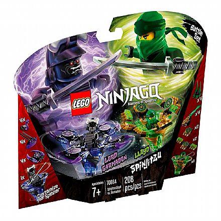 LEGO Ninjago - Spinjitzu Lloyd Contra Garmadon - 70664