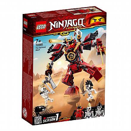 LEGO Ninjago - O Robô Samurai - 70665