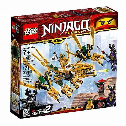 LEGO Ninjago - Dragao Dourado 70666