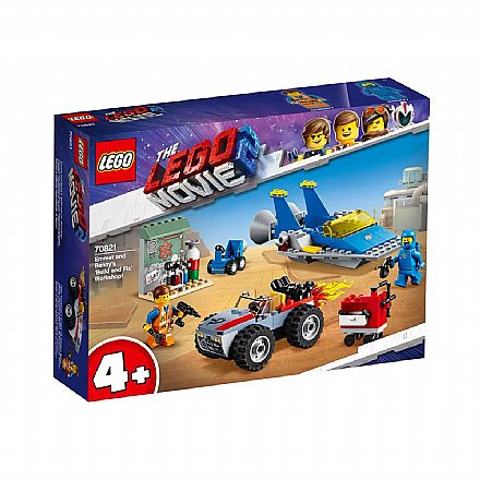 LEGO The Movie - Workshop de Emmet e Benny - 70821