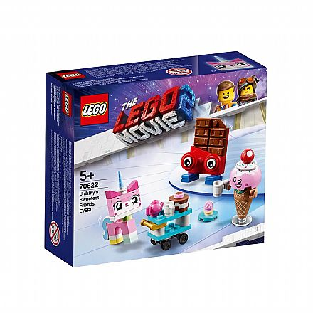 LEGO The Movie - Os Mais Fofos Amigos da Unikitt - 70822