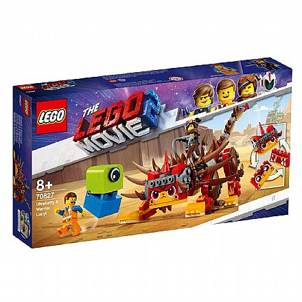 LEGO The Movie - Ultrakatty e Guerreira Lucy - 70827